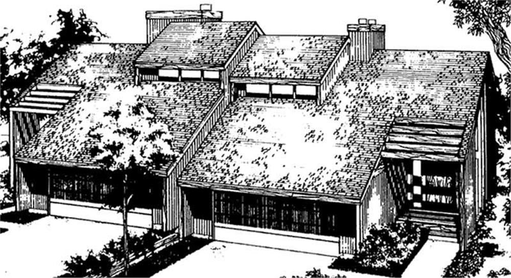 Main image for house plan # 21406