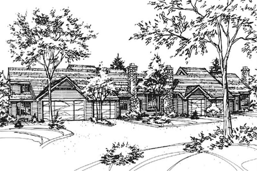 Main image for house plan # 21410
