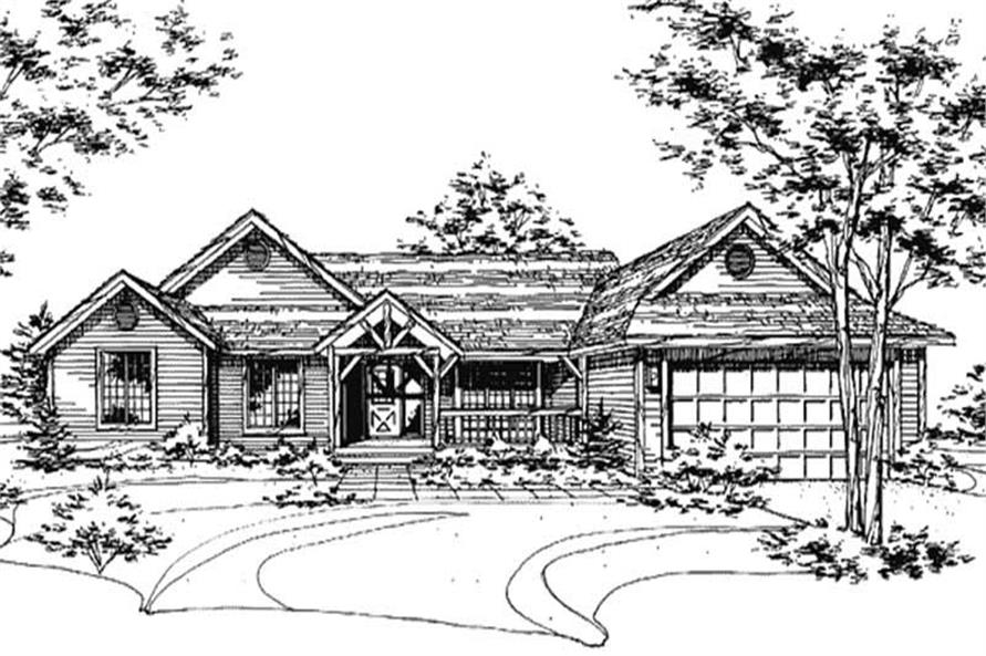 Main image for house plan # 21429