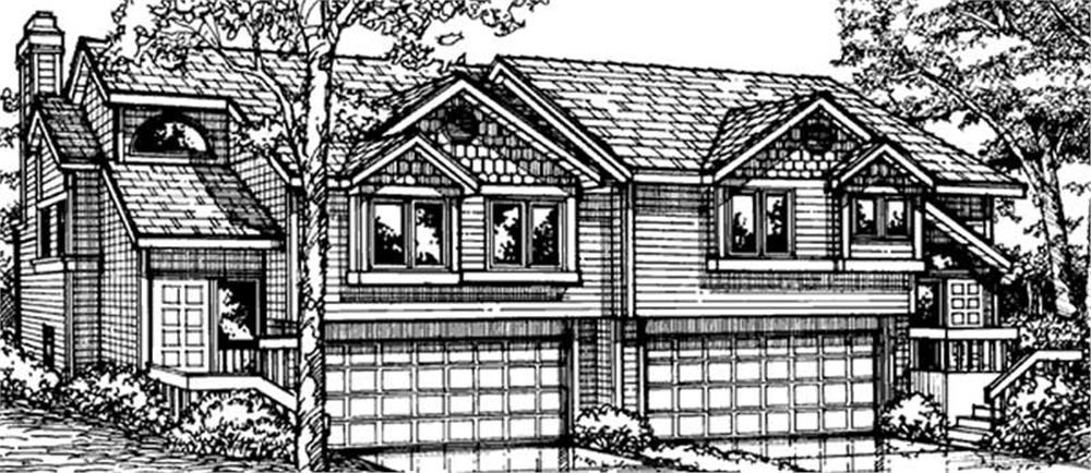 Main image for house plan # 21430