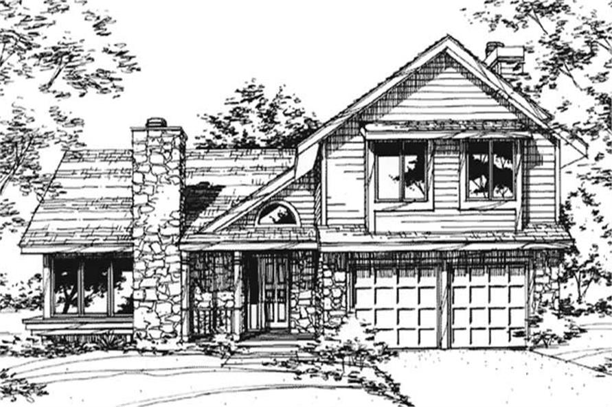Main image for house plan # 21425