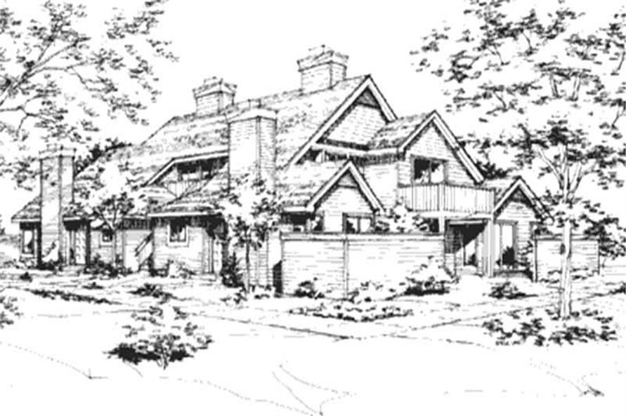 Main image for house plan # 21423