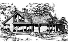Main image for house plan # 21438