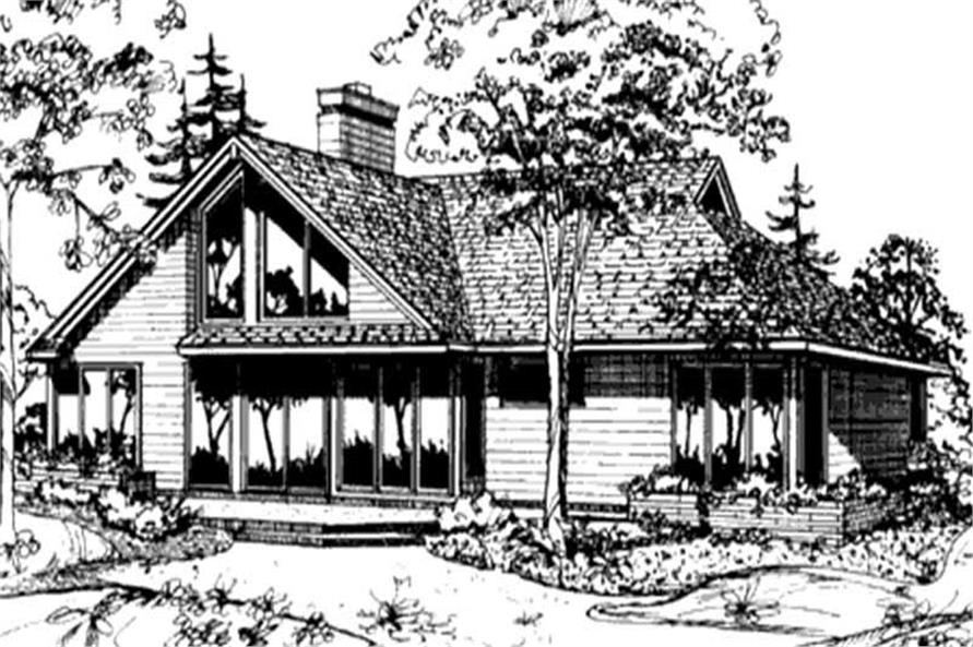 Passive Solar 1 1 2 Story House Plans Home Design Ls B