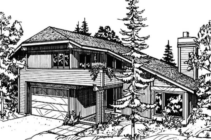 Main image for house plan # 21440