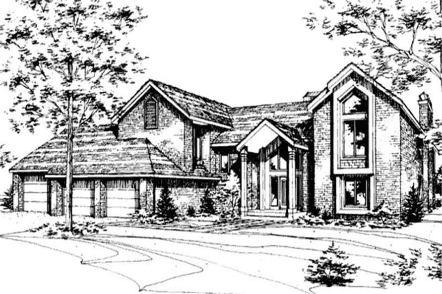 Main image for house plan #146-2062