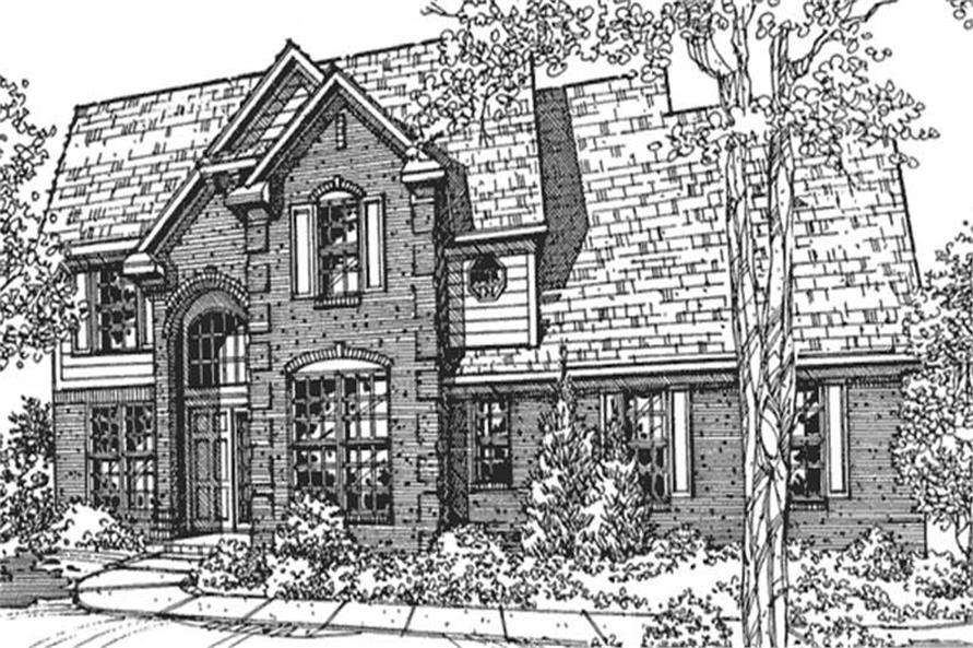 Main image for house plan # 21355