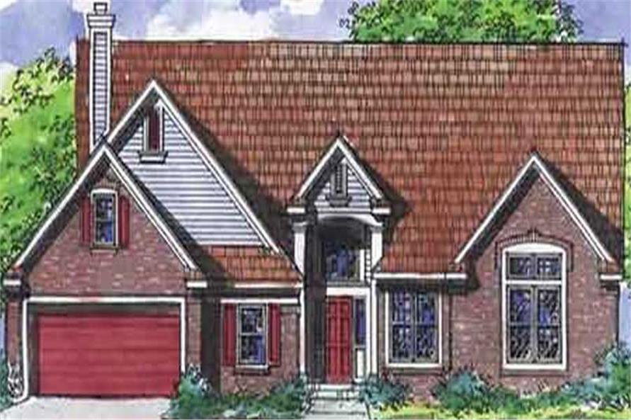 Main image for house plan # 21310