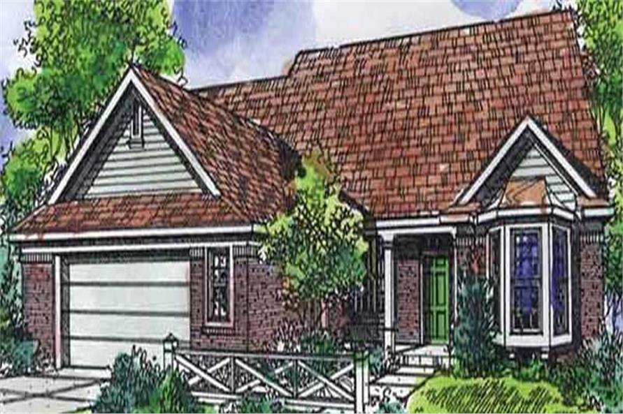 Main image for house plan # 21320