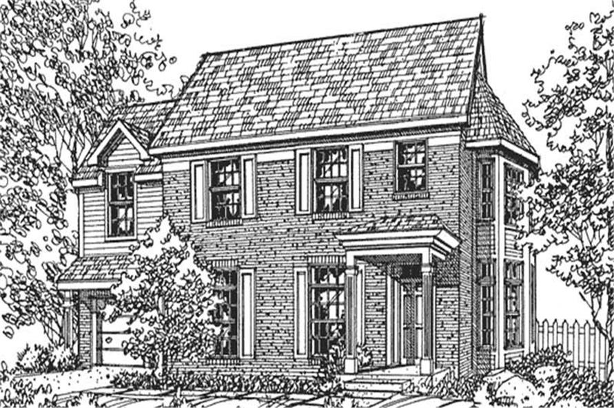 Main image for house plan # 21321