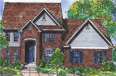 3-Bedroom, 2507 Sq Ft Cape Cod House Plan - 146-2071 - Front Exterior