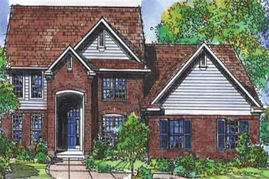 Main image for house plan # 21352
