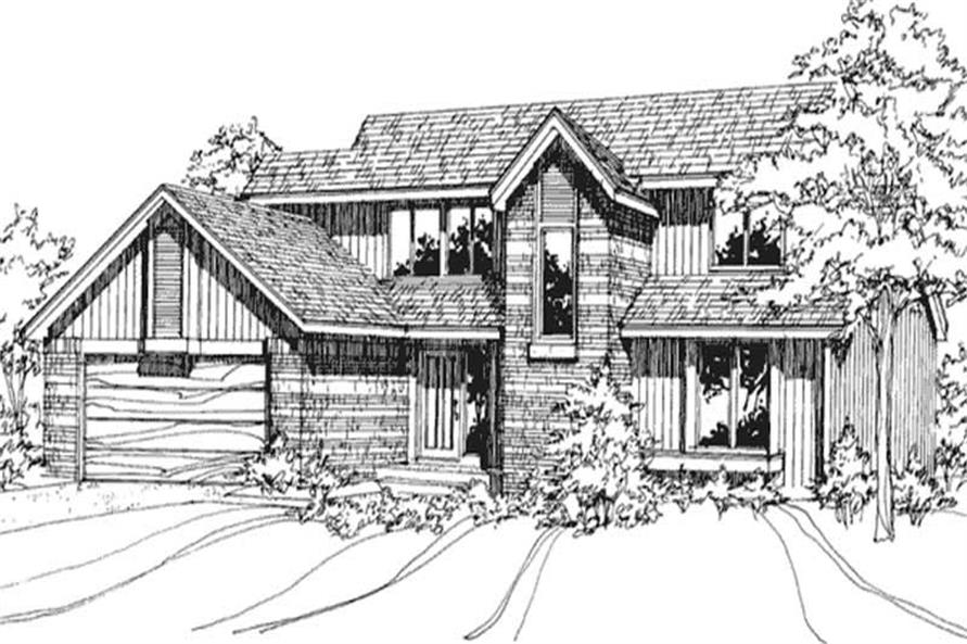 Main image for house plan # 21388