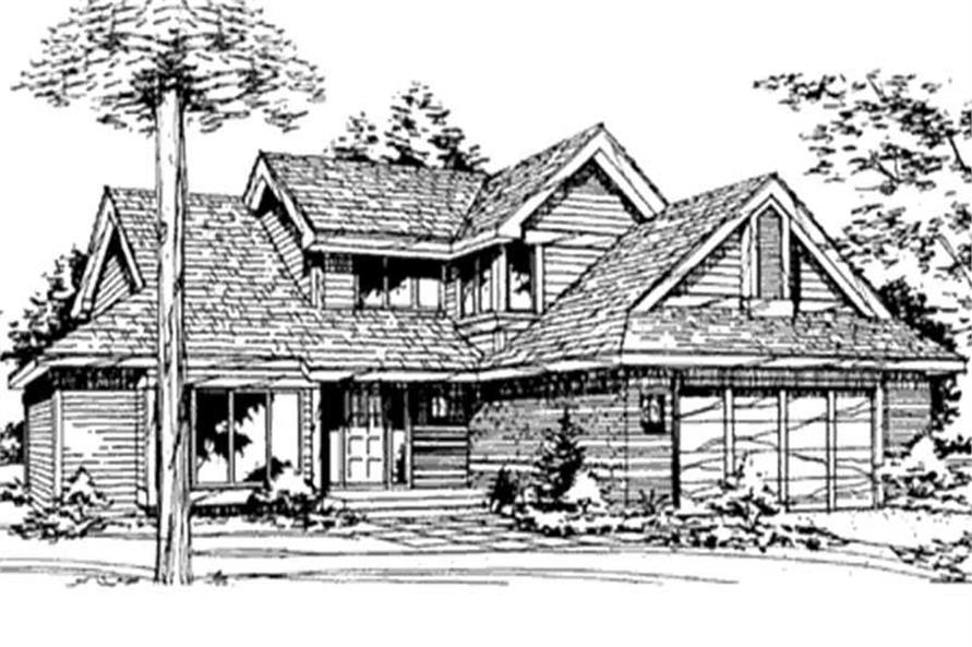 Main image for house plan # 21420