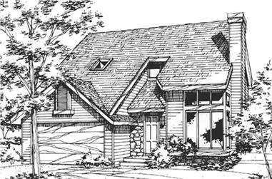 2-Bedroom, 1819 Sq Ft Country House Plan - 146-2078 - Front Exterior