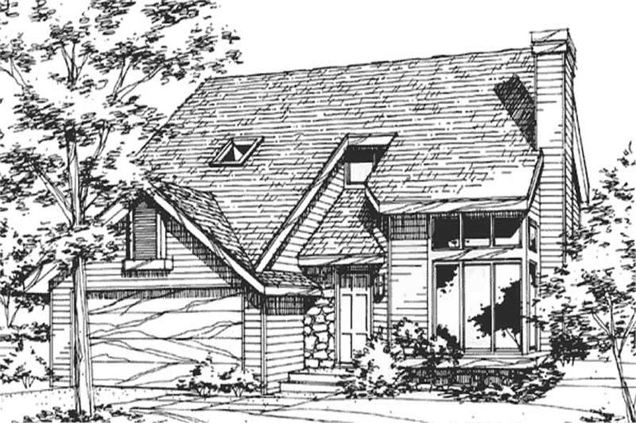 Main image for house plan # 21419