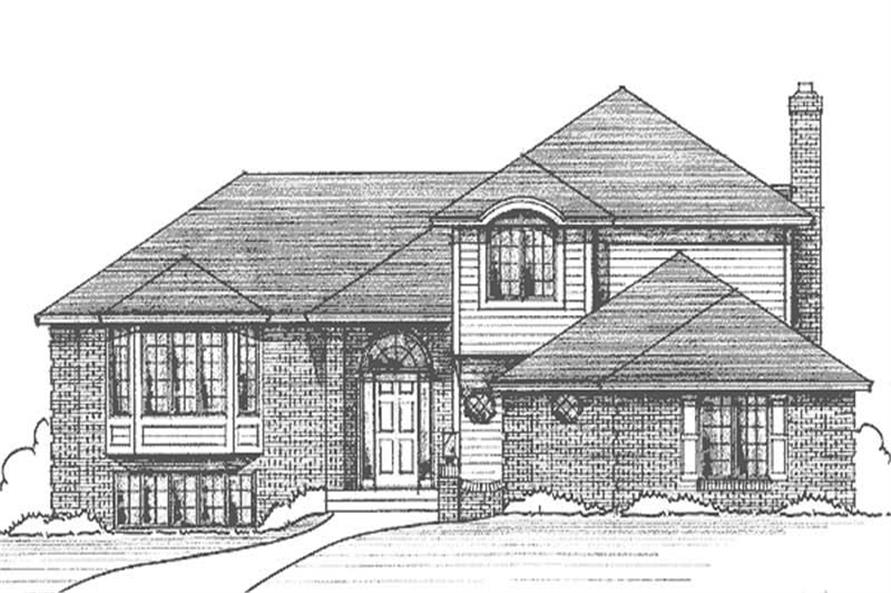 Main image for house plan # 21231