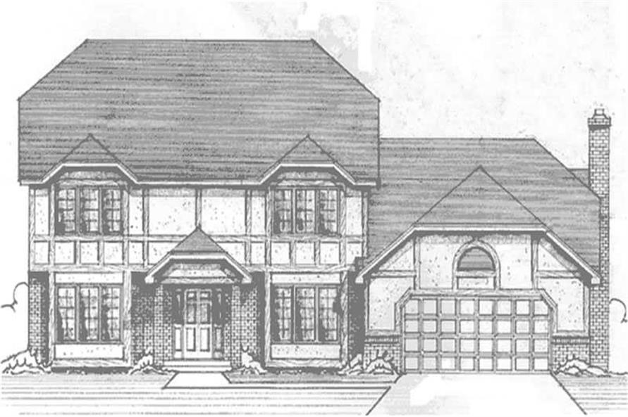 Main image for house plan # 21244