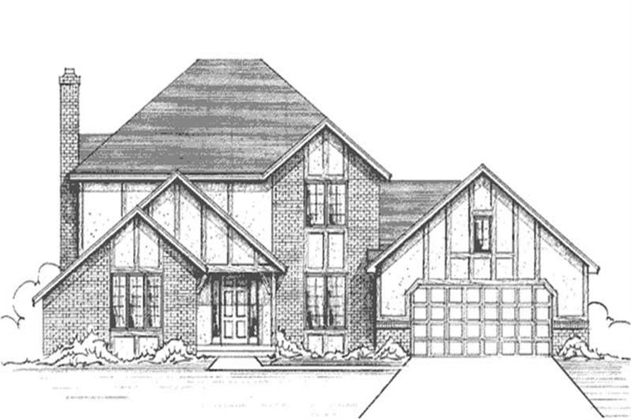 Main image for house plan # 21245