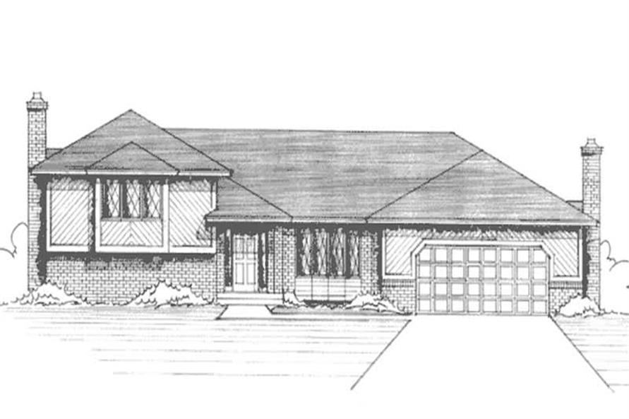 Main image for house plan # 21199