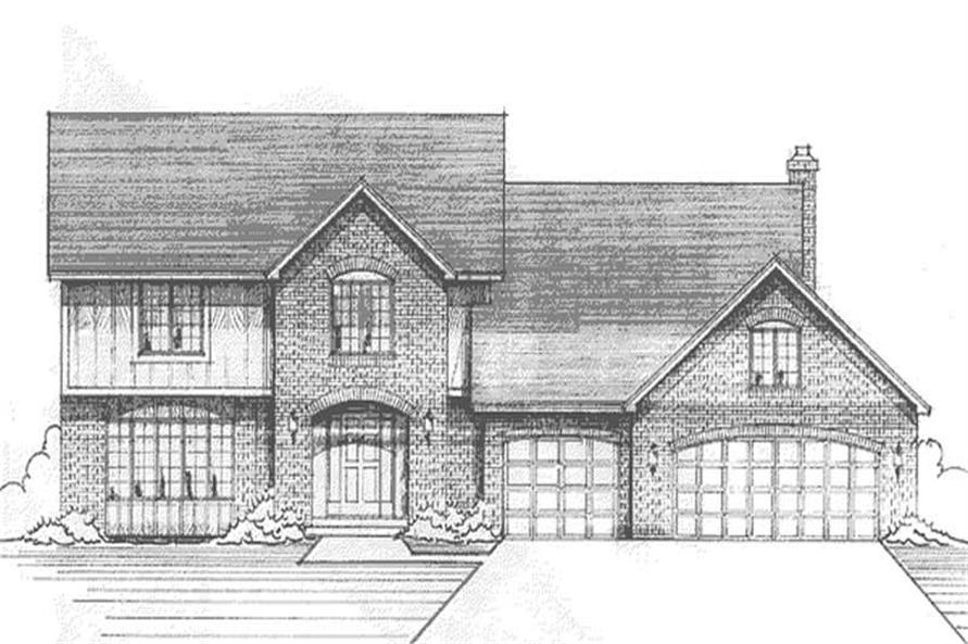 Main image for house plan # 21183