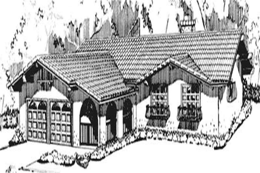 Main image for house plan # 21288