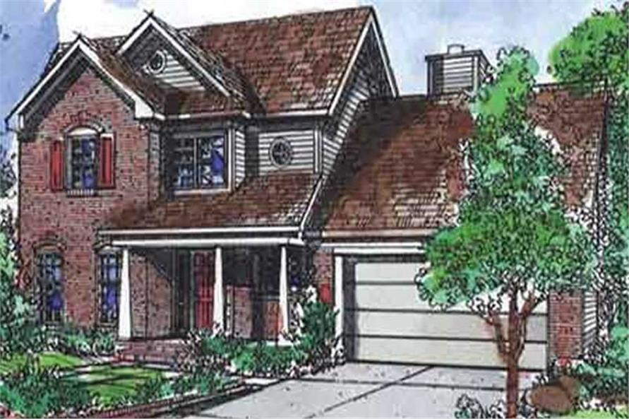 Main image for house plan # 21367