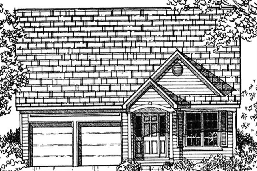 Main image for house plan # 21361