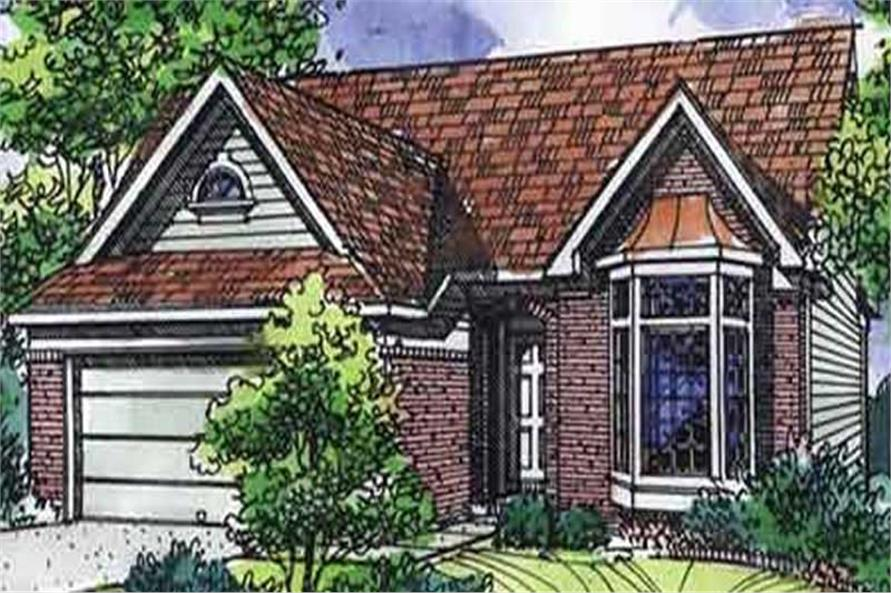 Main image for house plan # 21323