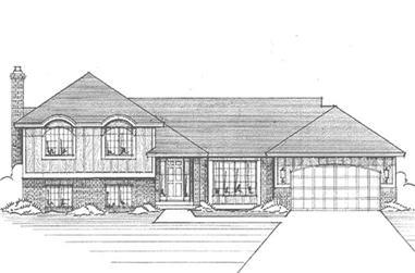 3-Bedroom, 1420 Sq Ft Craftsman House Plan - 146-2112 - Front Exterior