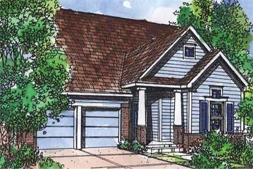 Main image for house plan # 21365