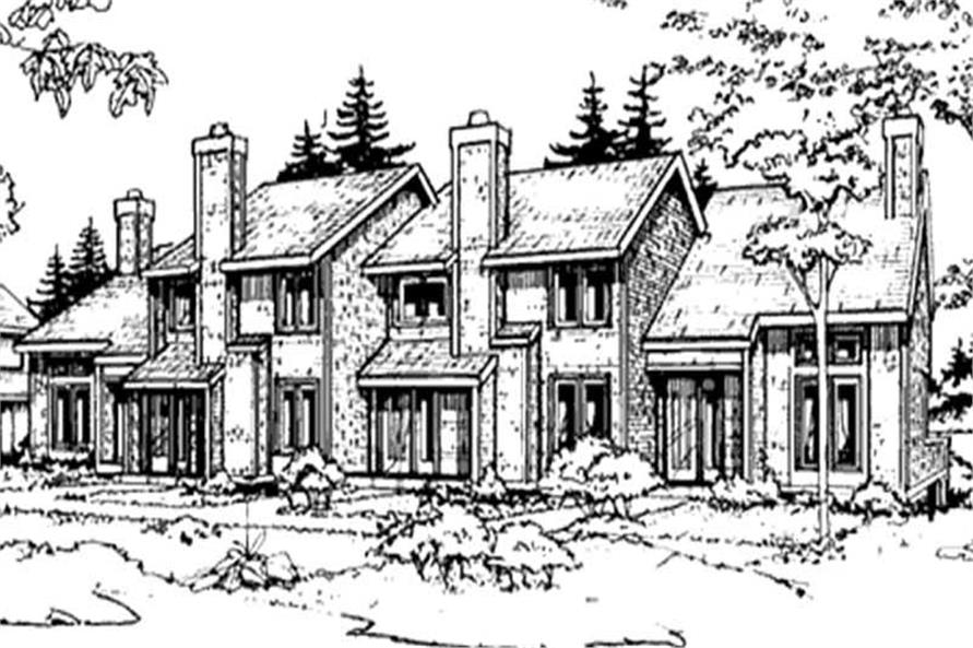 Main image for house plan # 21481