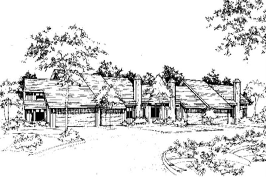 Main image for house plan # 21475