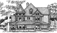 Main image for house plan # 21377