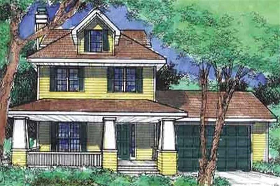Main image for house plan # 21379