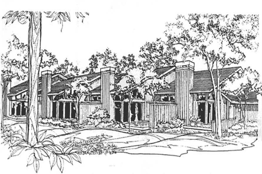 Main image for house plan # 21384
