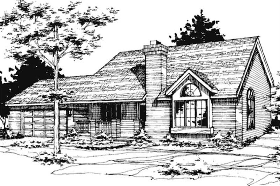 Main image for house plan # 21382