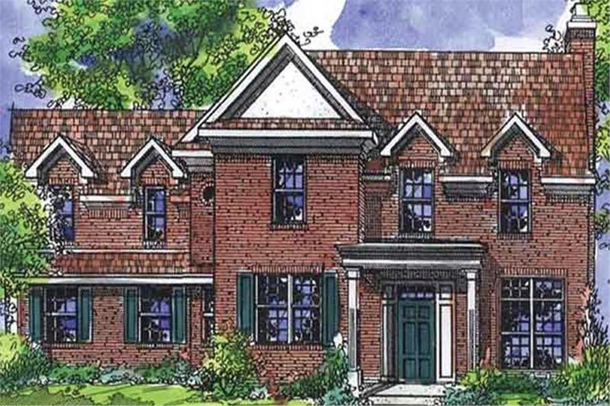 Main image for house plan # 21325