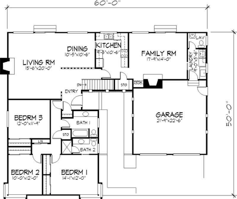 Modern house plans home design ls h 36882 b 21327 for Plan collection modern house plans