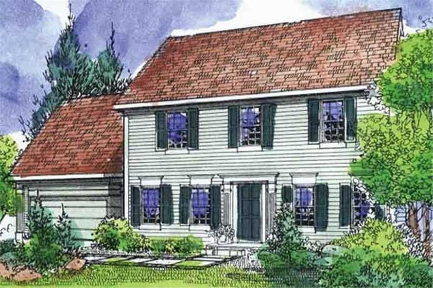 Main image for house plan # 21333