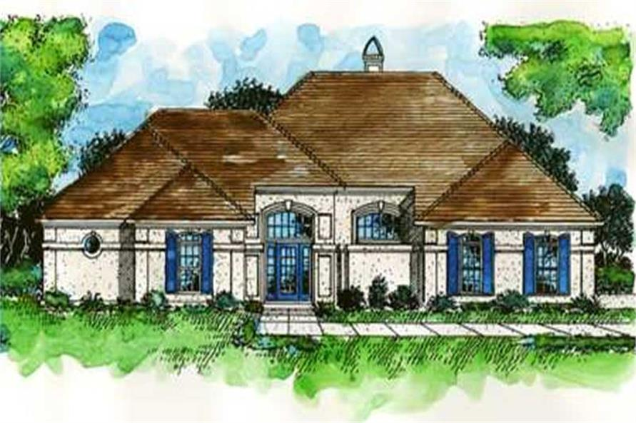 Main image for house plan # 20941