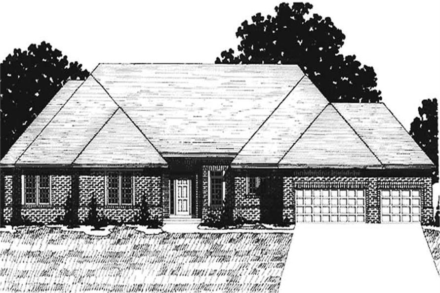 Main image for house plan # 20937