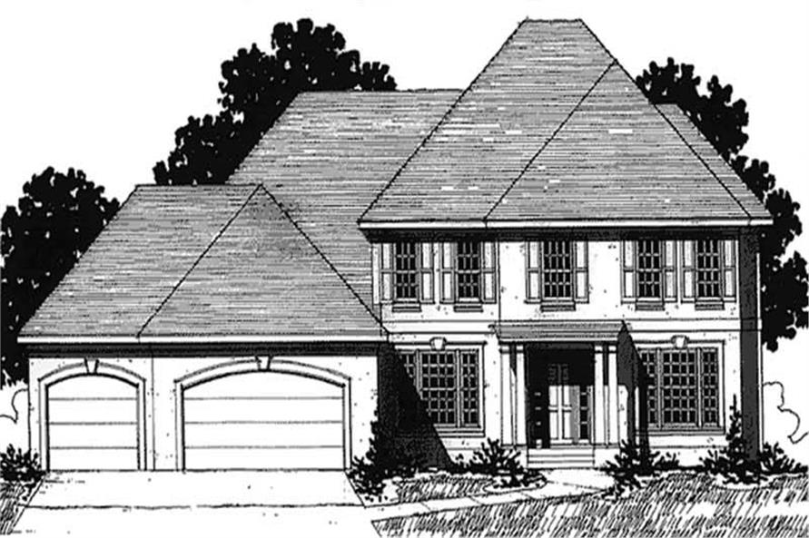 Main image for house plan # 20922