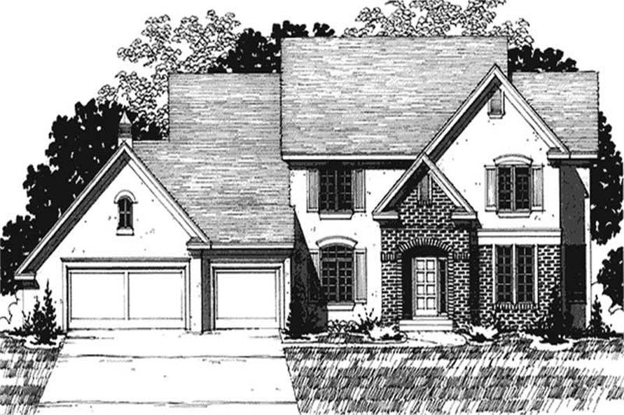 Main image for house plan # 20917