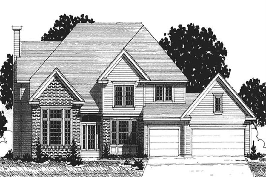 Main image for house plan # 20886