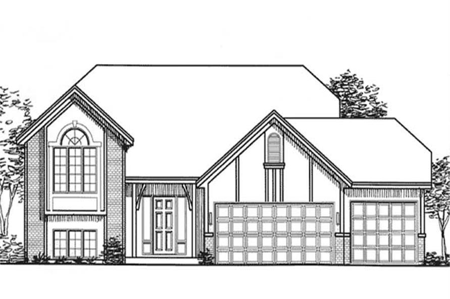 Main image for house plan # 20849