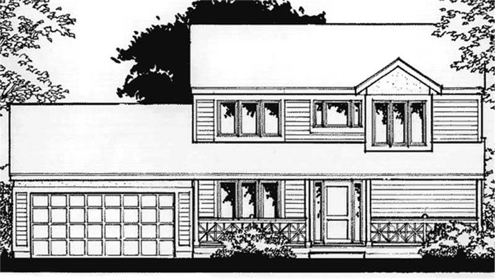 Main image for house plan # 20878