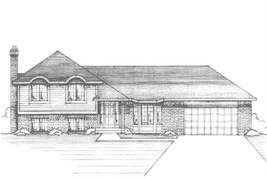 Main image for house plan # 20966