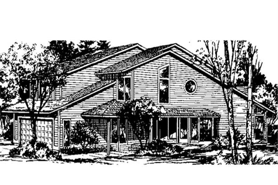 Main image for house plan # 20991