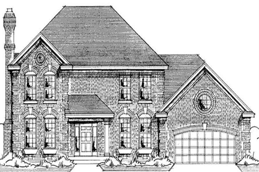 Main image for house plan # 20985